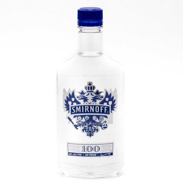 Smirnoff - 100 Proof Vodka - 375ml