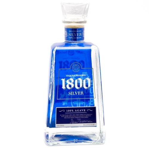 1800 - Silver Tequila - 1L