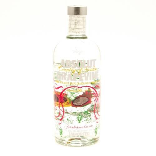 Absolut - Grapevine Vodka - 750ml