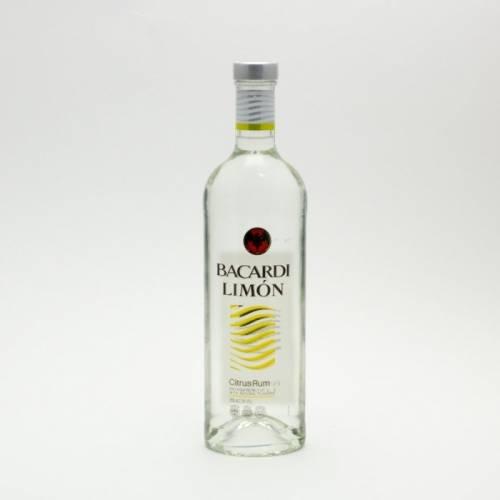 Bacardi - Limon Citrus Rum - 750ml
