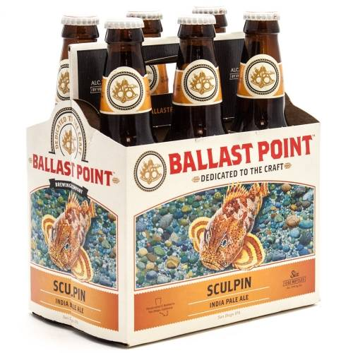 Ballast Point - Sculpin IPA - 6 Pack...