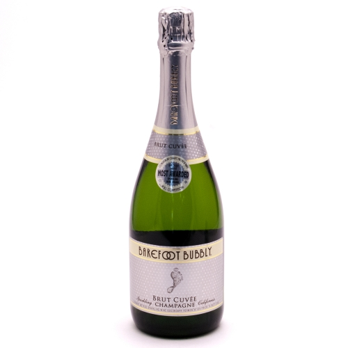 Barefoot Bubbly - Brut Cuvee -750ml