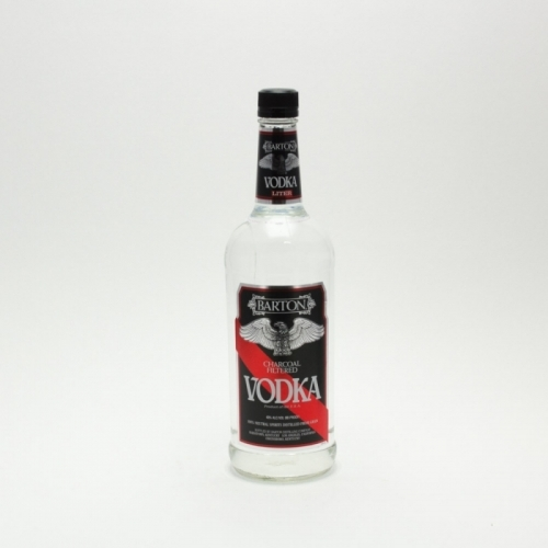 Barton - Charcoal Filterd Vodka - 1L