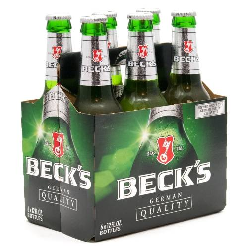 Beck's - 6 Pack 12oz Bottles