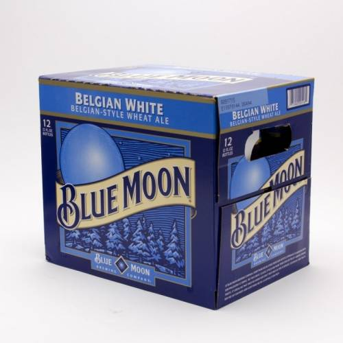 Blue Moon - Belgian White - 12 Pack...