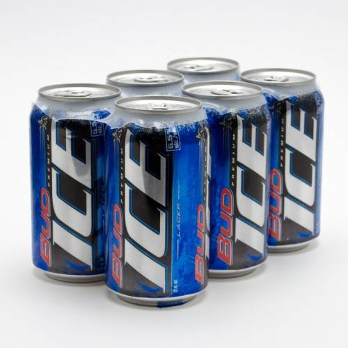 Bud Ice - 6 Pack 12oz Cans