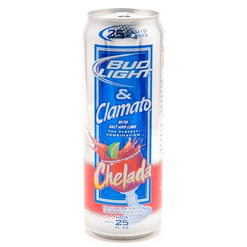 Bud Light & Clamato - Chelada -...