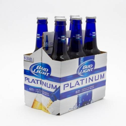 Bud Light Platinum - 6 Pack 12oz Bottles