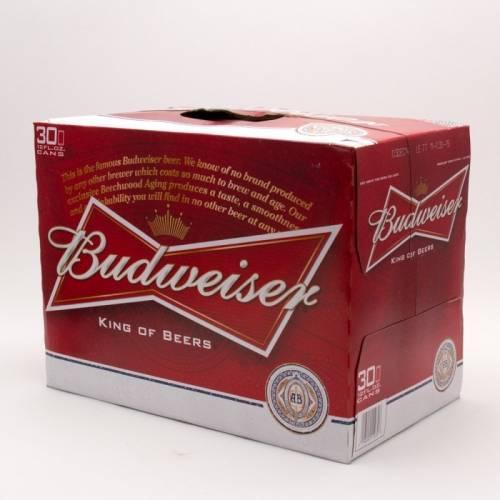 Budweiser - 30 Pack 12oz Cans