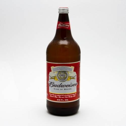 Budweiser - 40oz Bottle