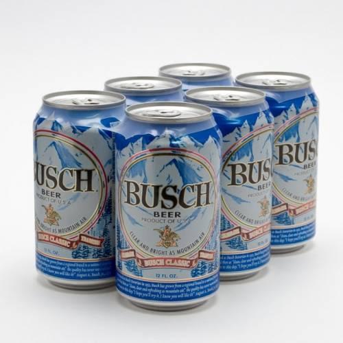 Busch - 6 Pack 12oz Cans