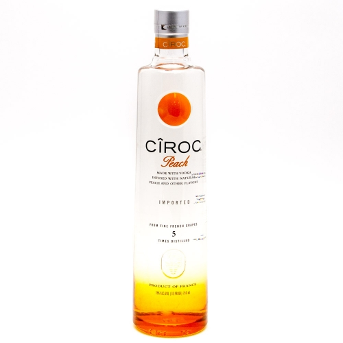 Ciroc - Peach Vodka - 750ml