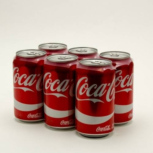 Coke - 6 Pack 12oz Cans