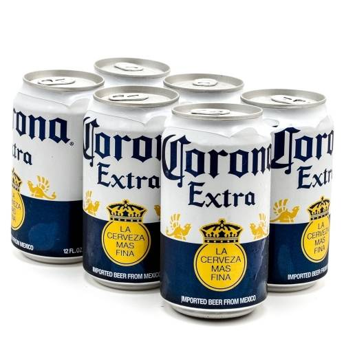 Corona Extra - 6 Pack 12oz Cans