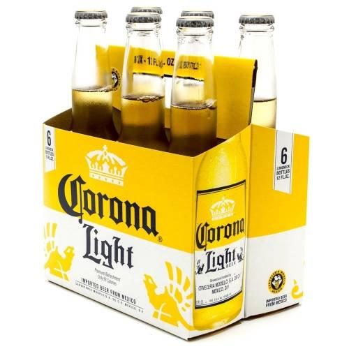 Corona Light - 6 Pack 12oz Bottles