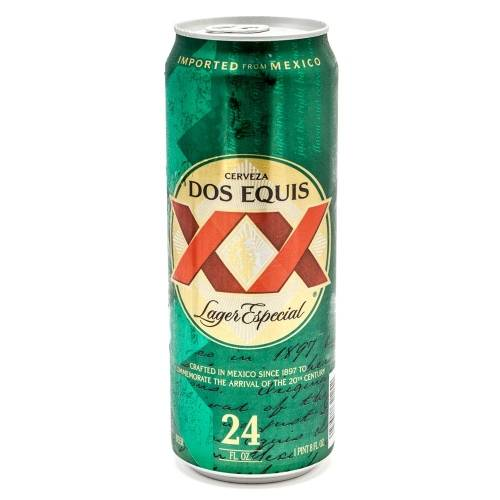 Dos Equis - XX Lager - 24oz Can