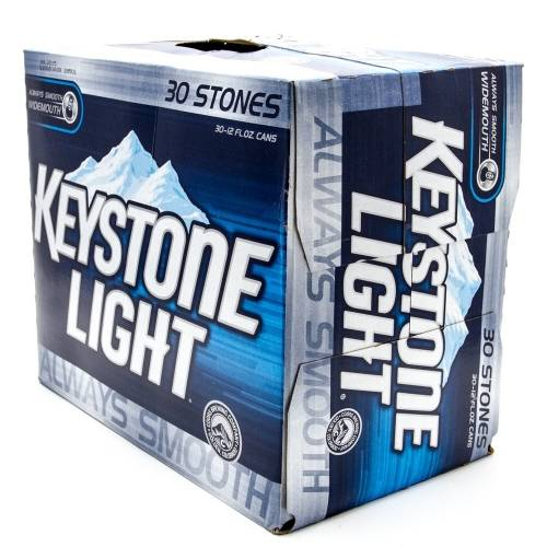 Keystone Light - 30 Pack 12oz Cans
