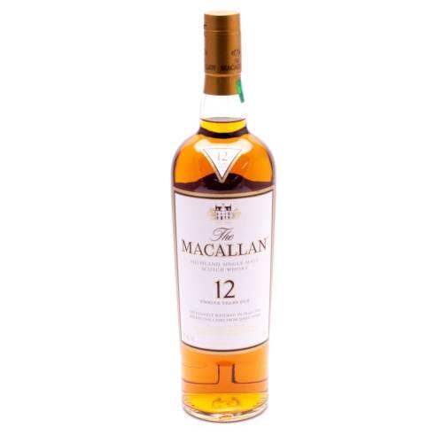 Macallan - 12 Year Single Malt Scotch...