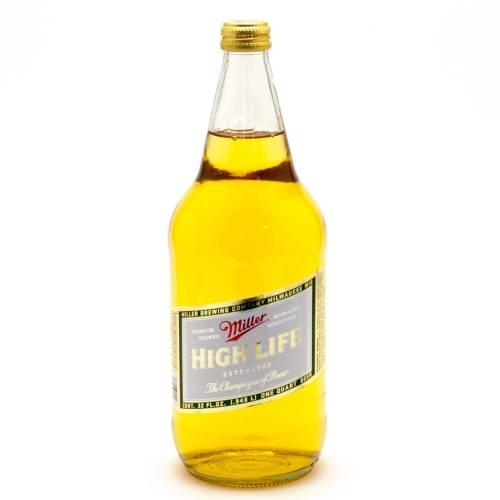 Miller High Life - 32oz Bottle