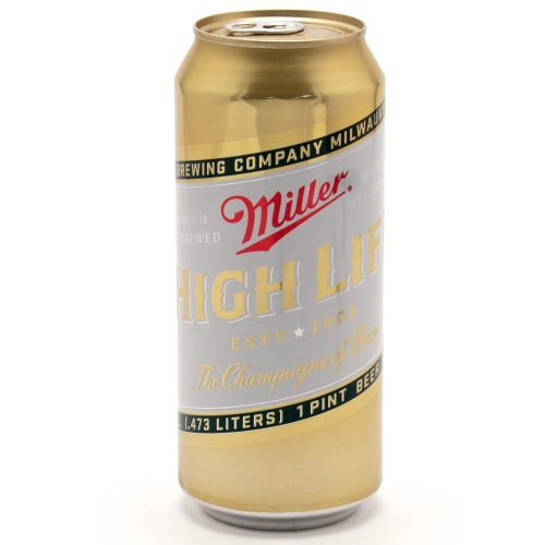 Miller High Life - 4 Pack 16oz Cans
