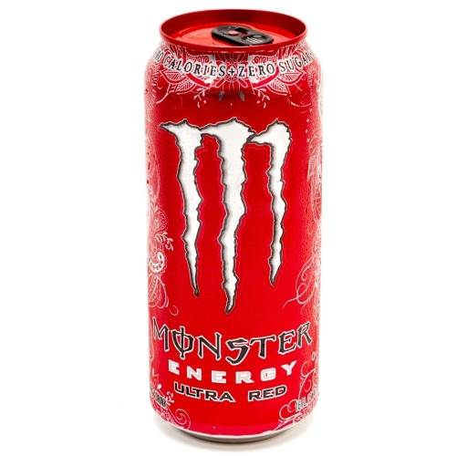 Monster - Ultra Red - 16oz