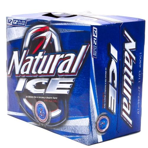 Natural Ice - 15 Pack 12oz Cans
