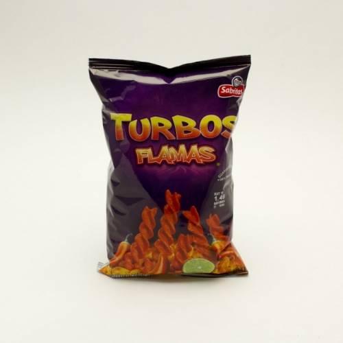 Sabritas - Turbos Flamas - 4.25oz