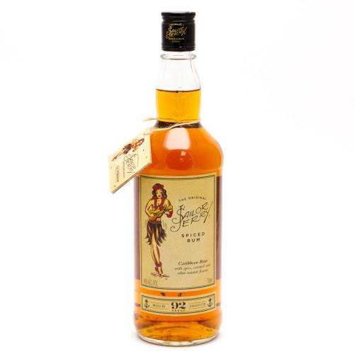 Sailor Jerry - 92 Proof Spiced Rum -...