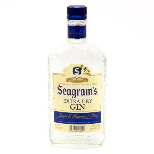 Seagram's - Extra Dry Gin - 375ml