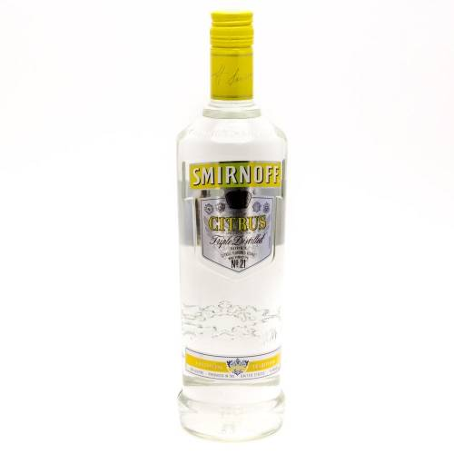 Smirnoff - Citrus Vodka - 750ml