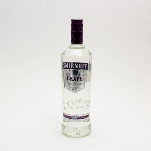 Smirnoff - Grape Vodka - 750ml