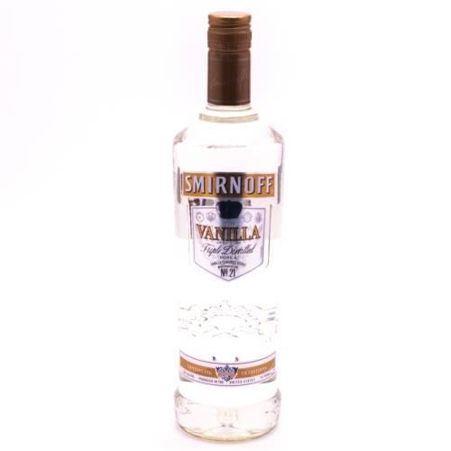 Smirnoff - Vanilla Vodka - 750ml