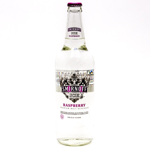 Smirnoff Ice - Raspberry - 24oz Bottle