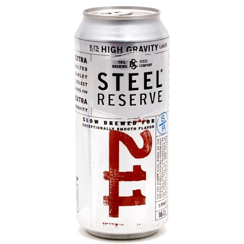 Steel Reserve - High Gravity - 16oz Can