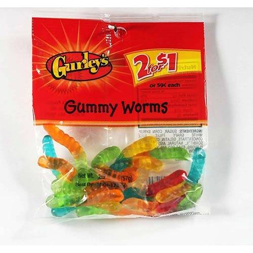 Gurley's - Gummy Worms - 2oz