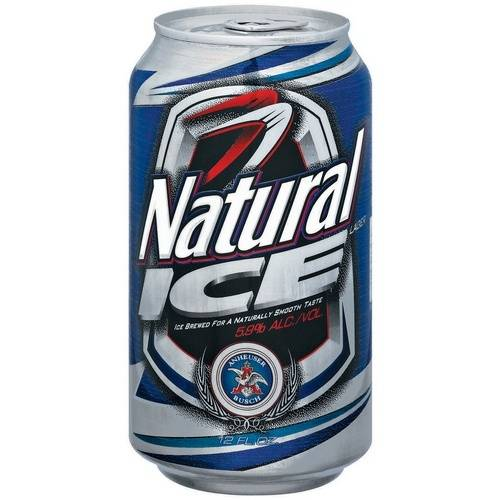 Natural Ice - 12oz Can