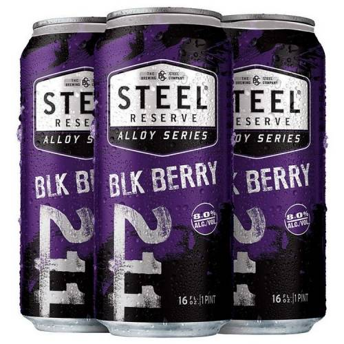 Steel Reserve - Blackberry - 4 Pack...