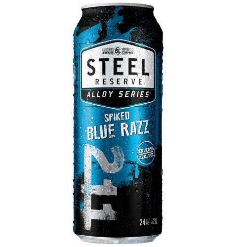 Steel Reserve - Spiked Blue Razz -...