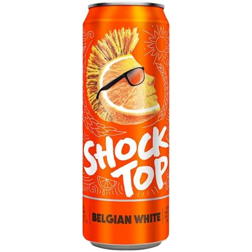 Shock Top - Belgian White - 25oz Can
