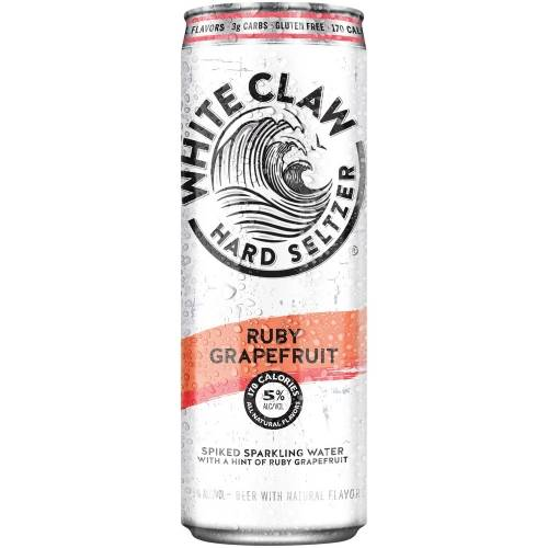White Claw - Ruby Red Grapefruit -...