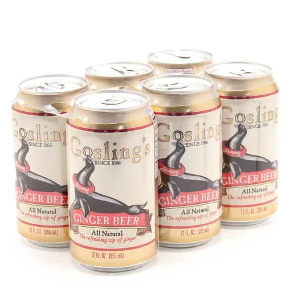 Gosling Ginger Beer - 6 Pack