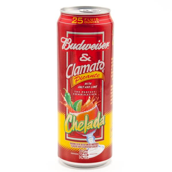 Budweiser Amp Clamato Picante Chelada 25oz Beer Wine And