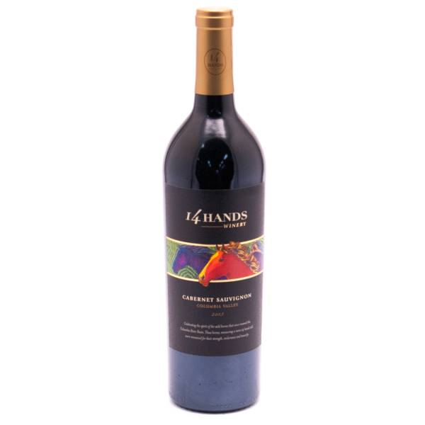 14 Hands Cabernet Sauvignon Columbia Valley - 13.5% ACL - 750ml