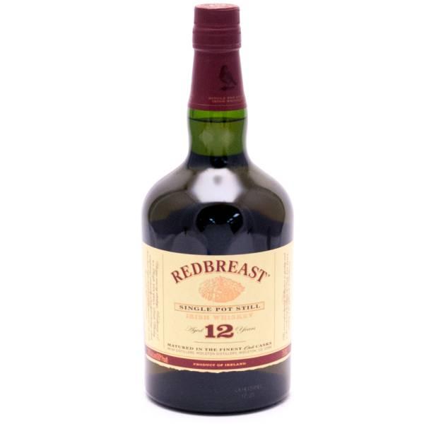 Red Breast Single Pot Still Irish Whiskey - 80 Proof - 750ml