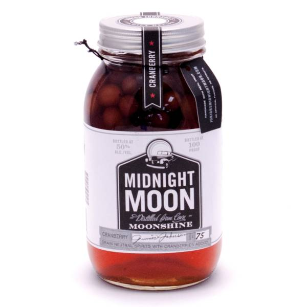 Midnight Moon - Cranberries 100 Proof 750ml