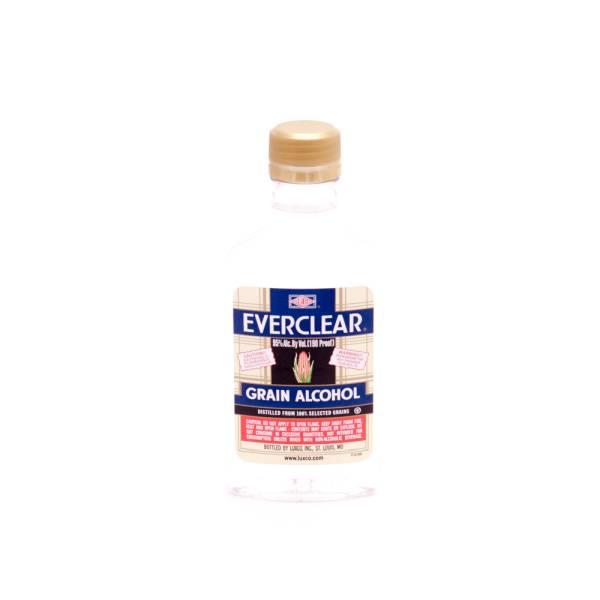 Everclear Grain Alcohol 190 Proof 200ml