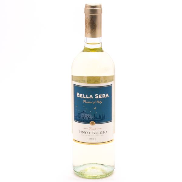 Bella sera veneto pinot grigio 12 acl 750ml beer for The bella sera