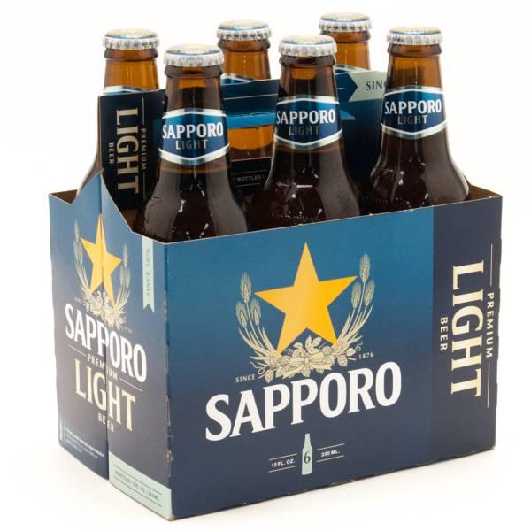 Sapporo Light 6 Pack