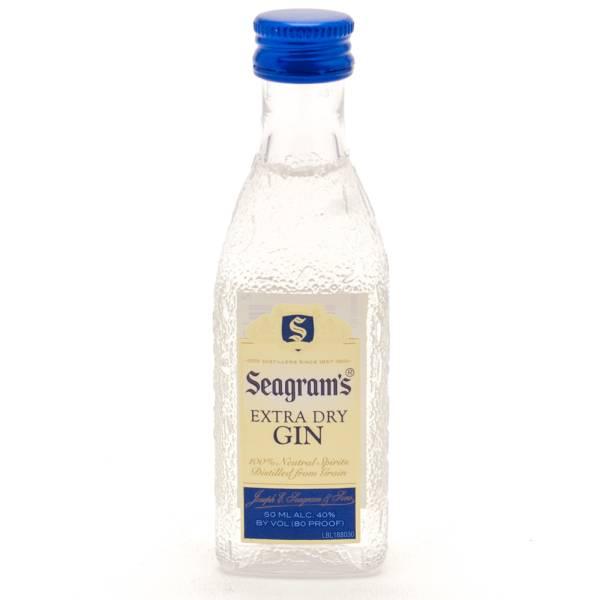 Seagram's Extra Dry Gin Mini 50ml