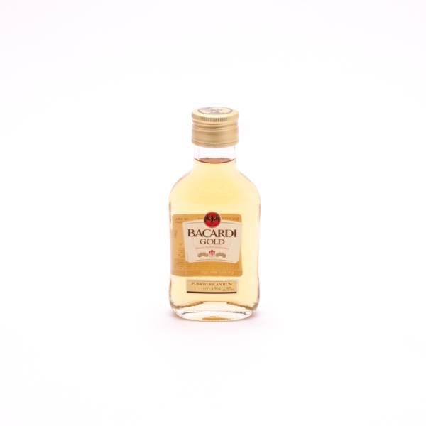 Bacardi Gold Original Premium Crafted Rum - 40% ACL -100ml